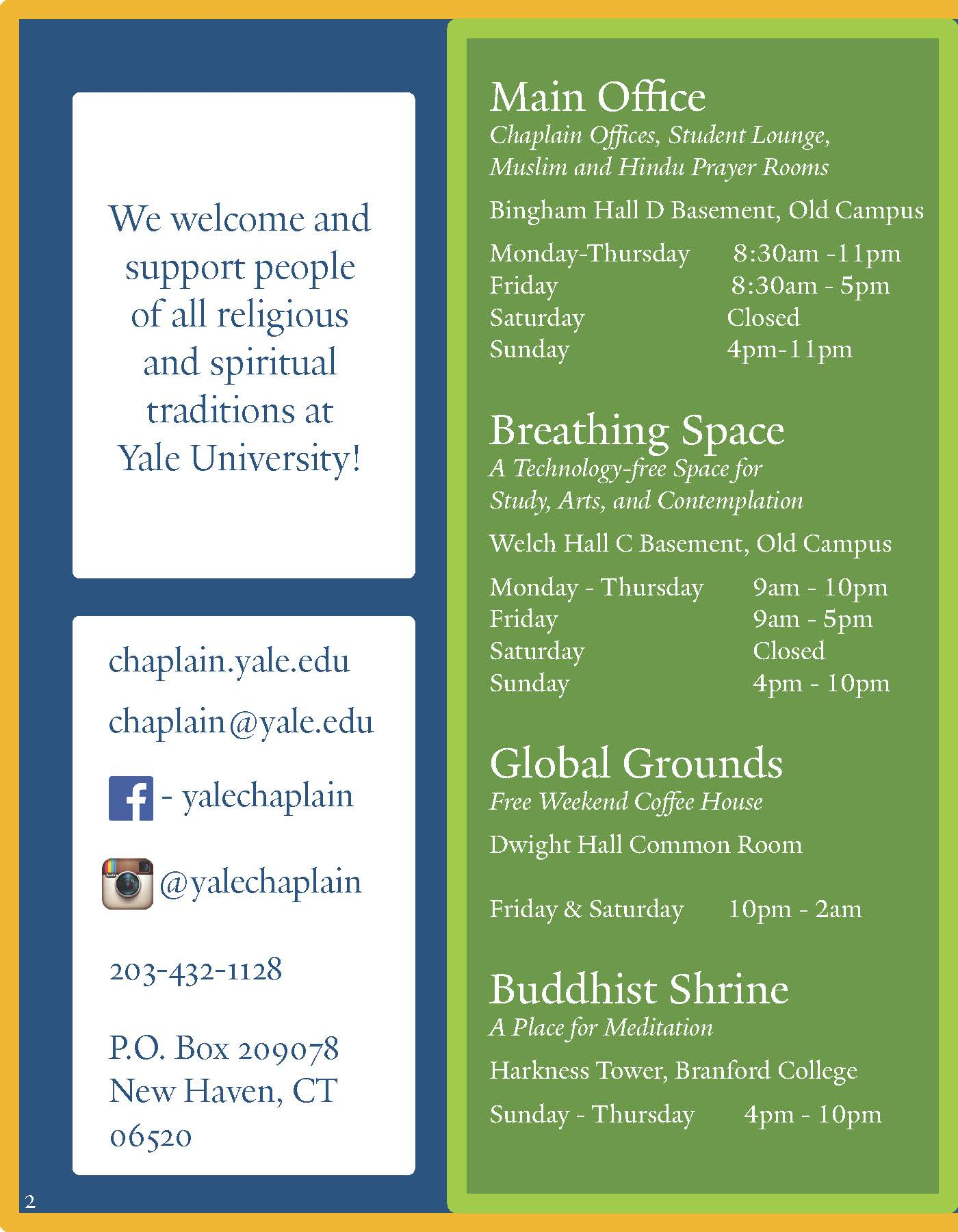 Interfaith Calendar 2020 Multifaith Calendar 2019 2020 | Chaplain's Office